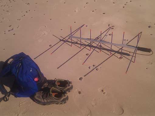 Portable Satellite Antenna the Arrow II