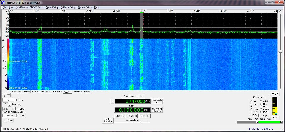 RF Space SDR-IQ SDR RX & The IF-2000 Board