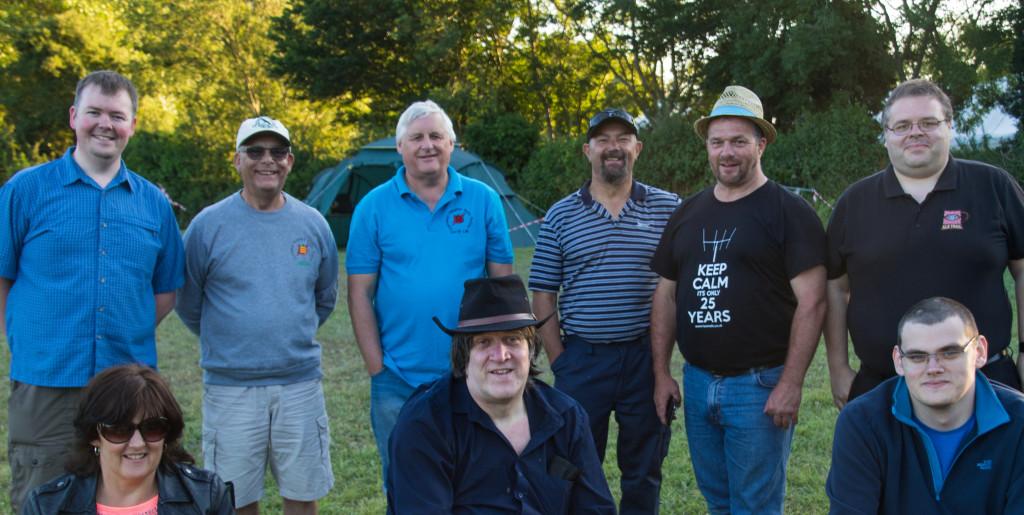 Guernsey Support Crew Team Photo